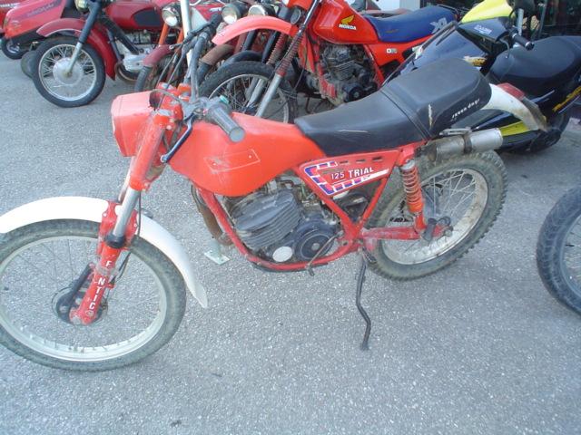 fantic trial 125cc