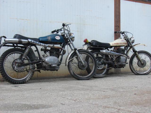 stock moto gilera 175