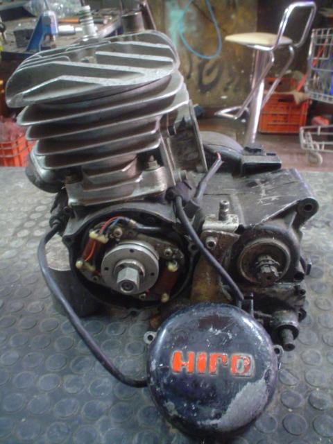 blocco hiro 125cc raffreddamento licquido.. epoca