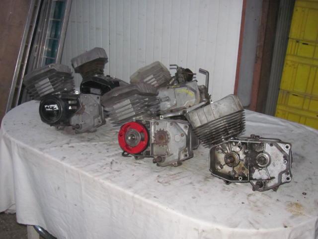 Blocchi per motori minarelli 50cc   4 e 6 marce.