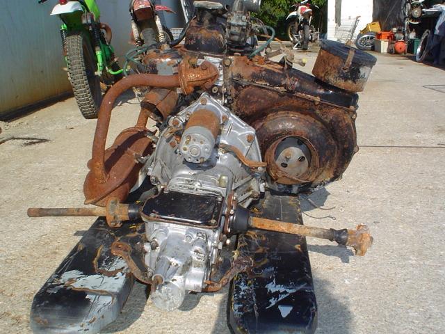BLOCCO MOTORE COMPLETO FIAT 500 - 600