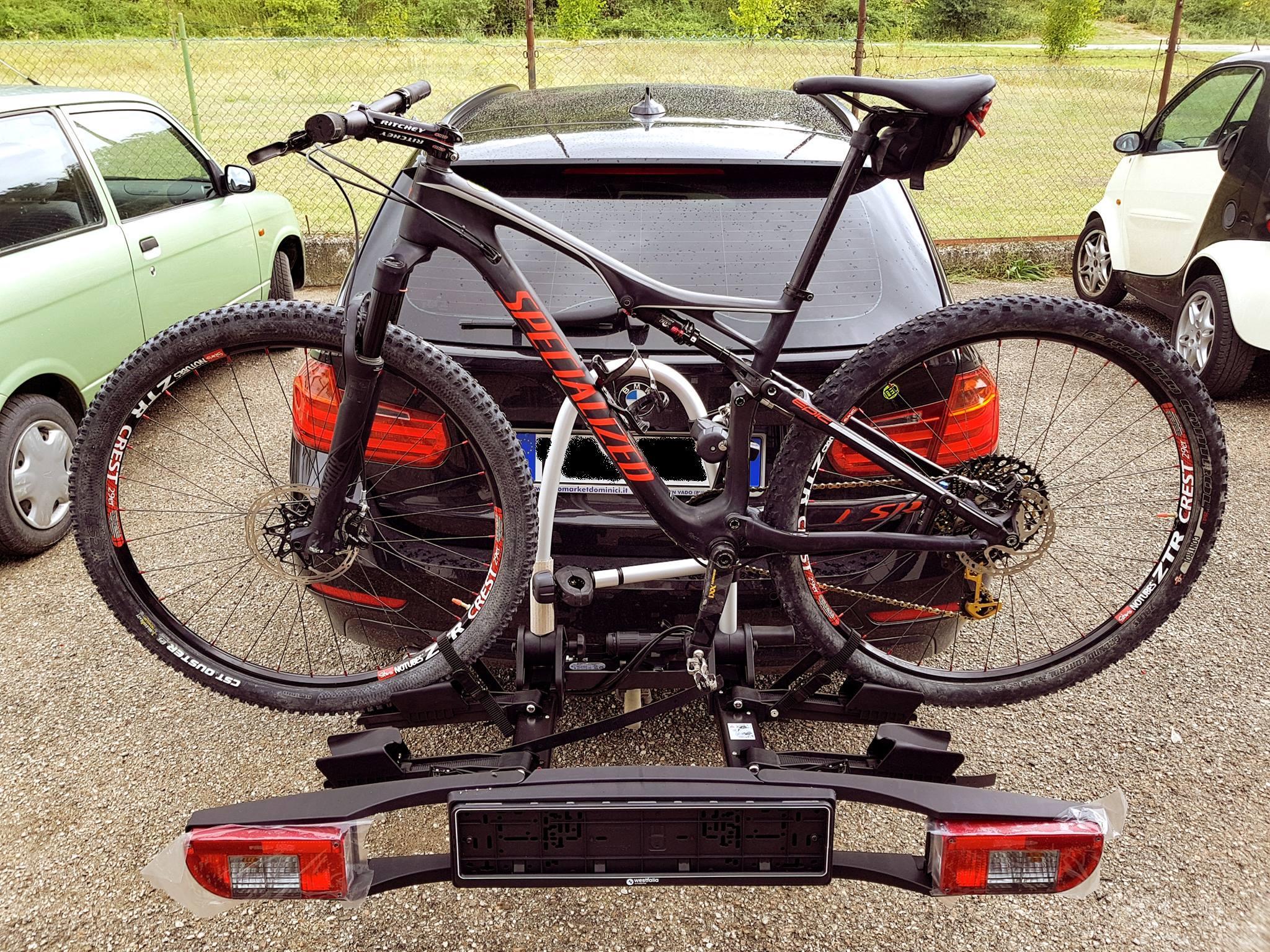 Portabici WESTFALIA BC60 2 bici