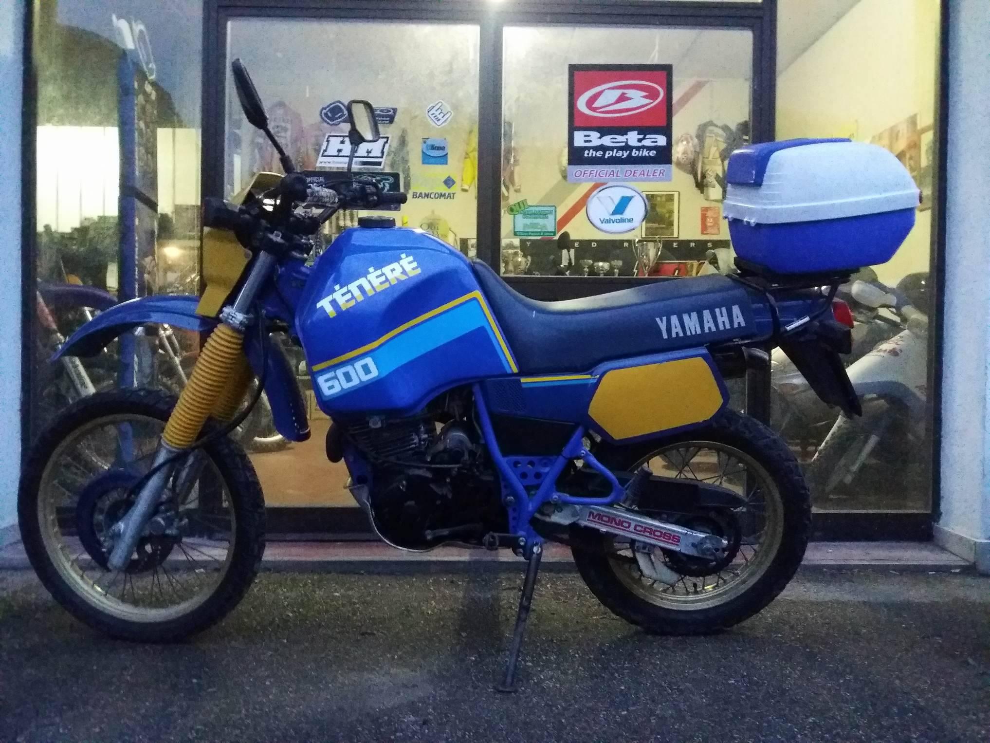 Yamaha tenerè xt 600 z