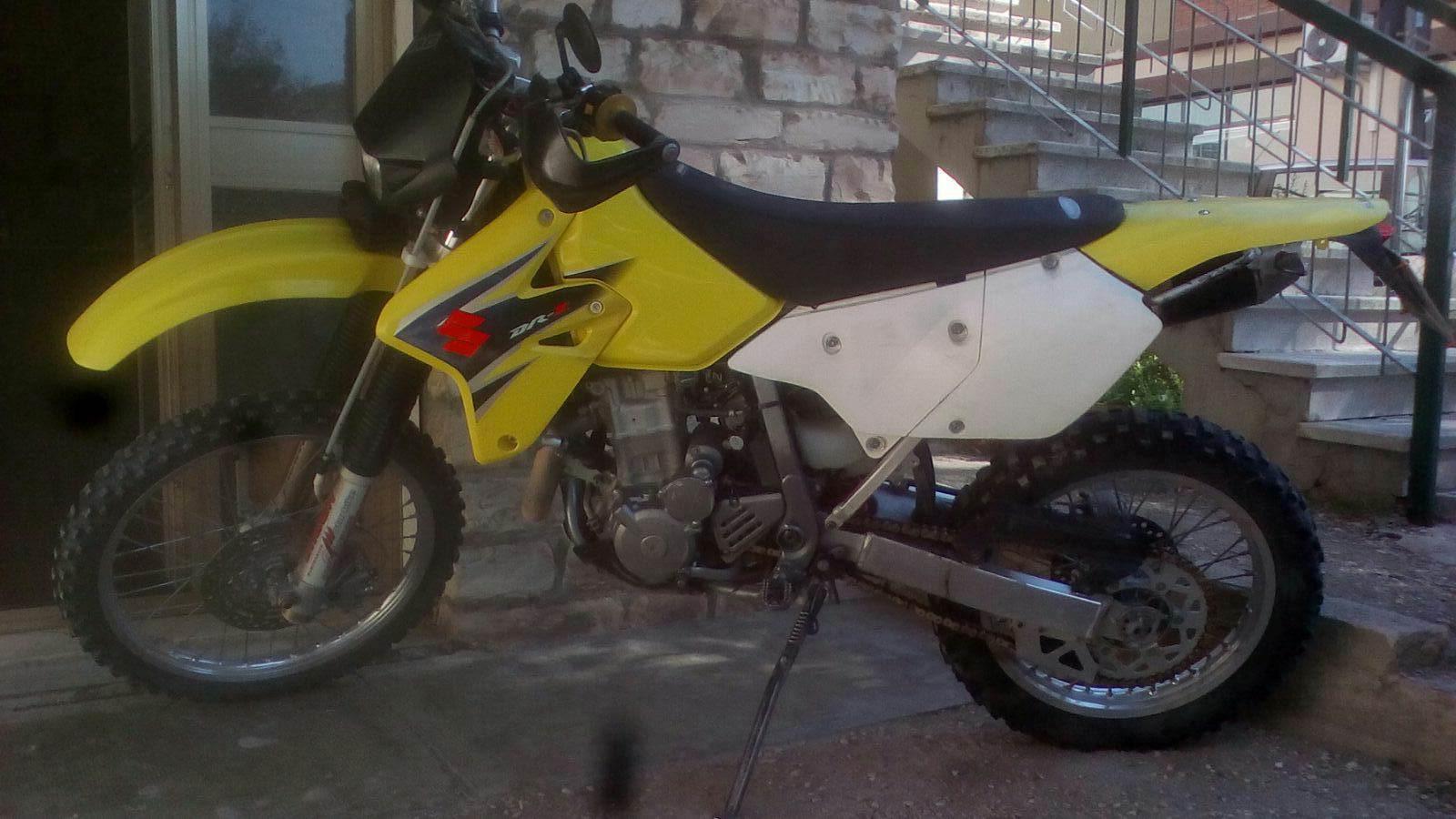Suzuki dr 400 2008