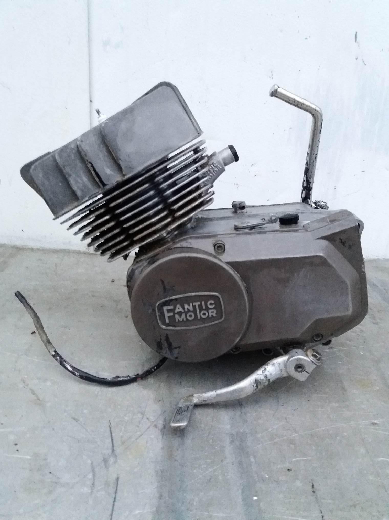 Blocco motore fantic 50 4v