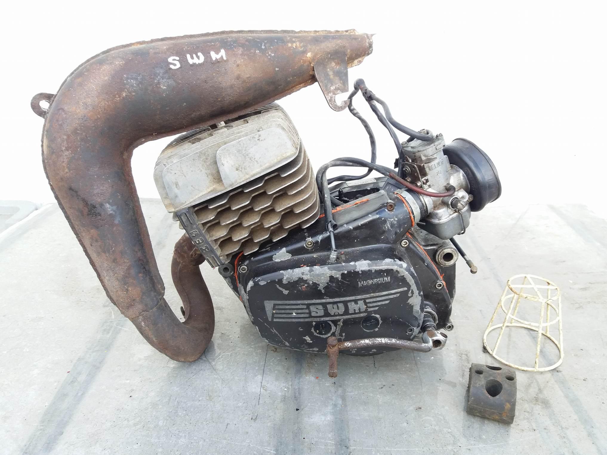 Blocco motore swm 125