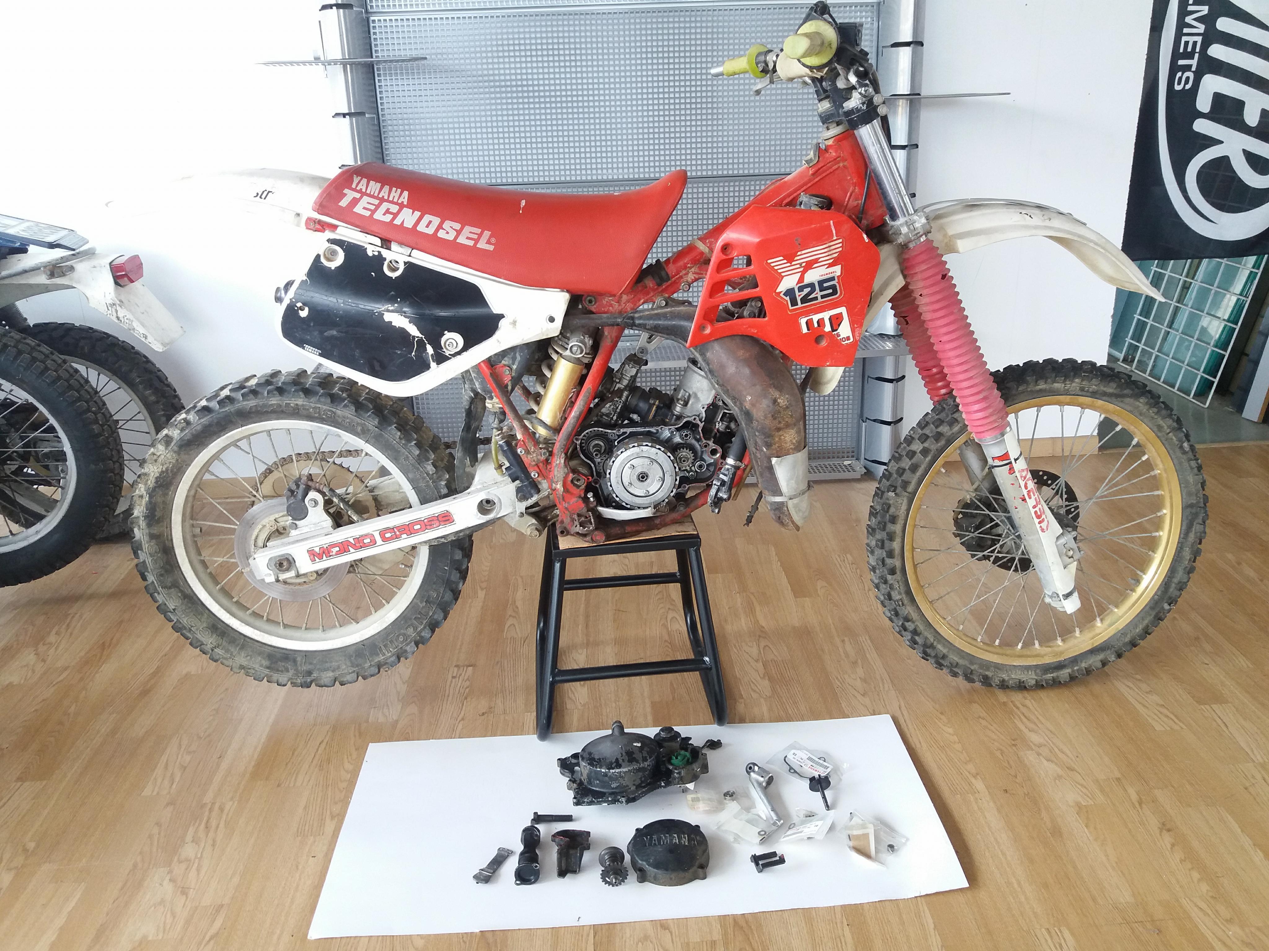 Yamaha yz 125 1988