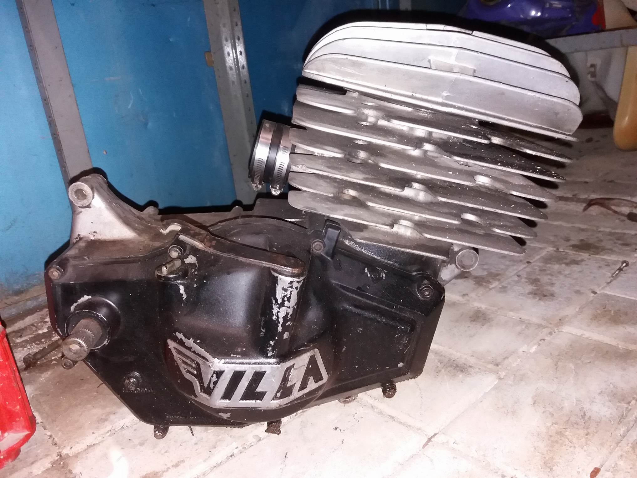 Blocco motore villa fv 250