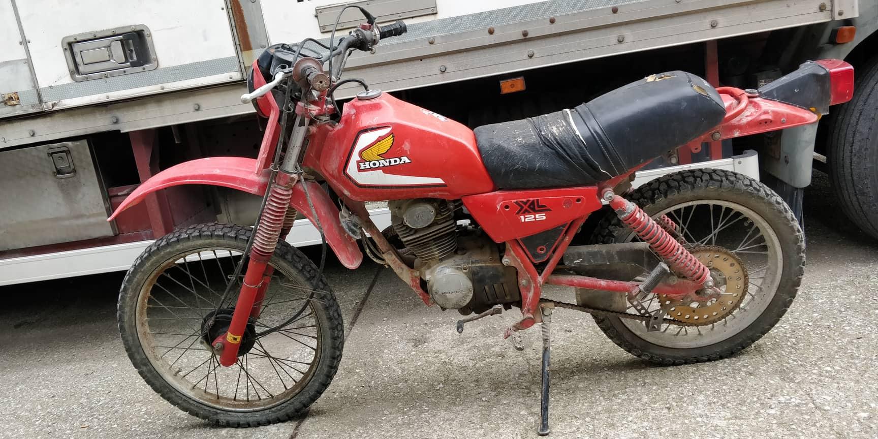 Honda xl 125 ricambi