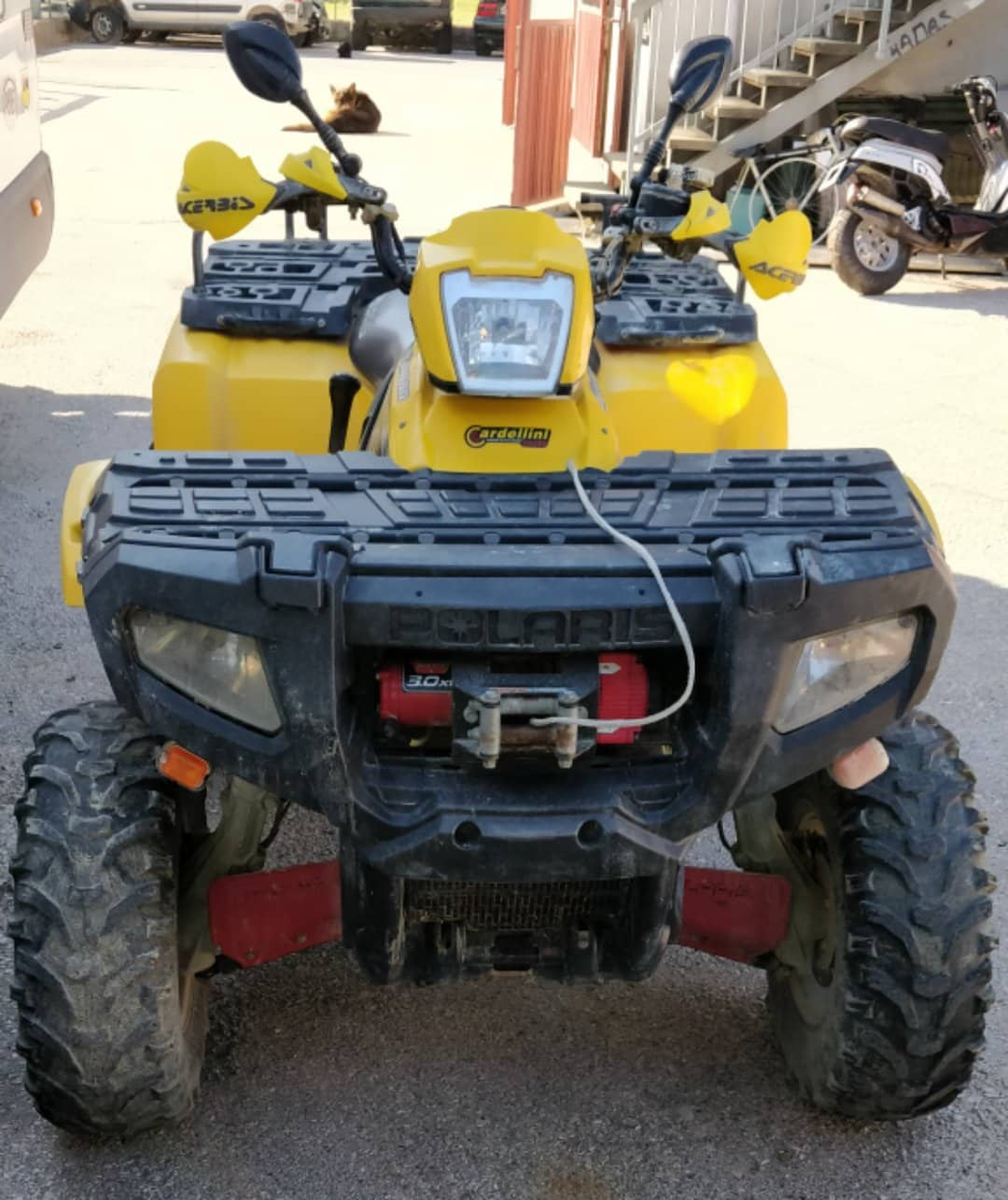 Quad polaris 800 4x4